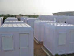 Монтаж на модулни кабини за мениджърски екипи в Сенегал
