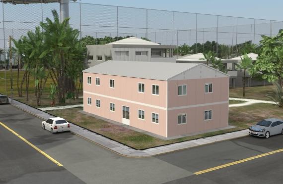 Модулна Офис Постройка  340 м²