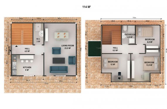 готови къщи цени