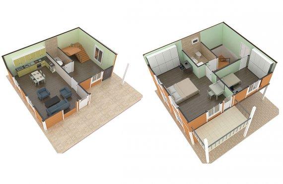 готови проекти за къщи цени