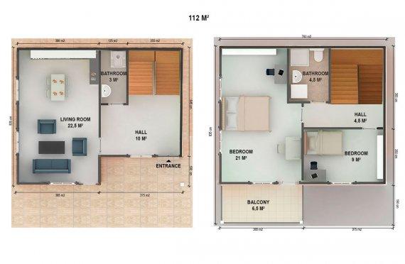 готови сглобяеми къщи за продан цени