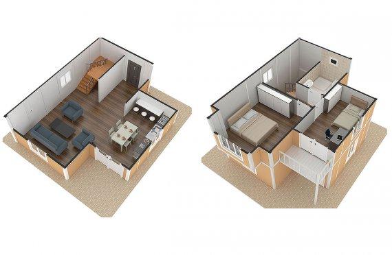 дървена къща цени