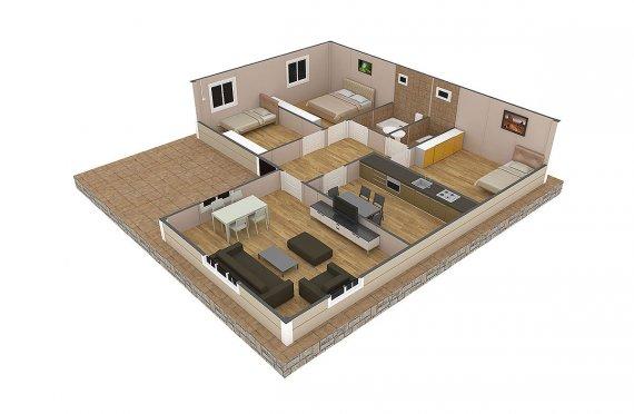 дървени къщи банско цена