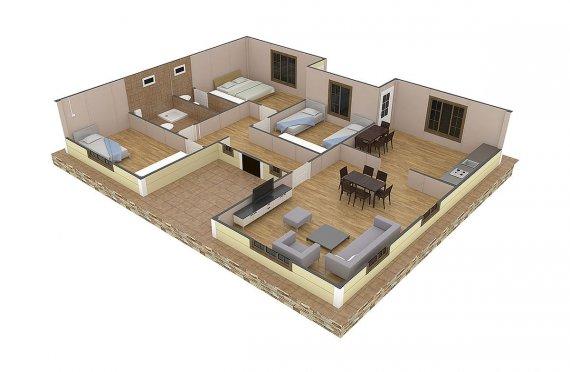дървени къщи банско цени