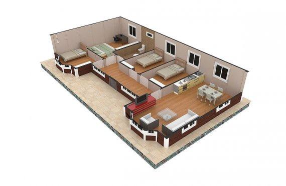 къщи сглобяеми цена