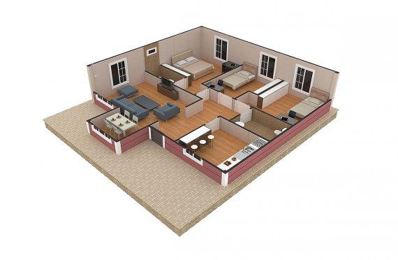 метални конструкции за къщи цена