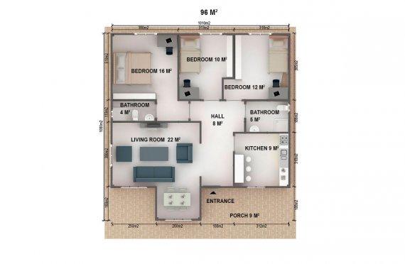 метални сглобяеми къщи цена