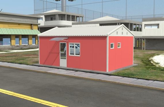 Модулна Офис Постройка  40 м²
