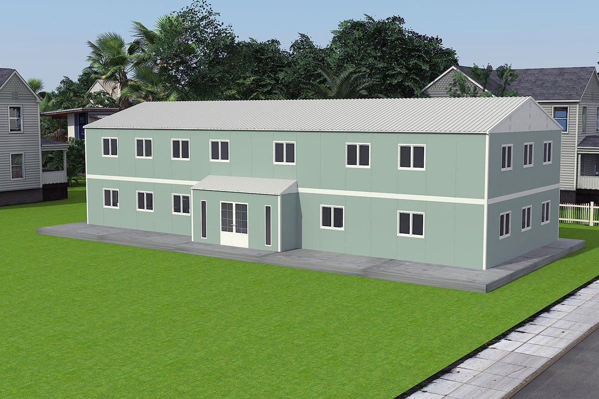 Модулна Офис Постройка  415 м²