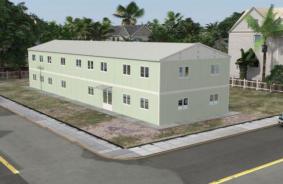 Модулна Офис Постройка  463 м²