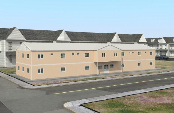 Модулна Постройка за Социални Нужди  793 м²