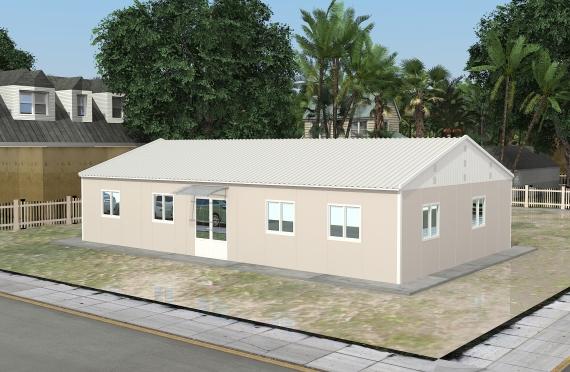 Модулна Офис Постройка  136 м²