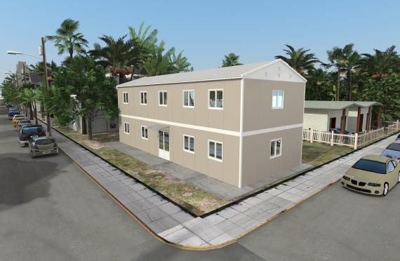 Модулна Офис Постройка  214 м²