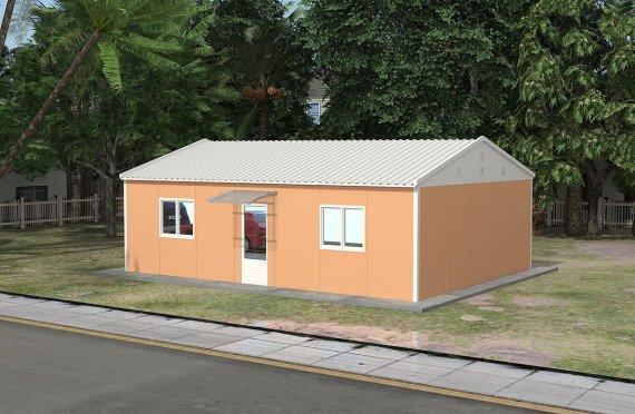 Модулна Офис Постройка 58 м²