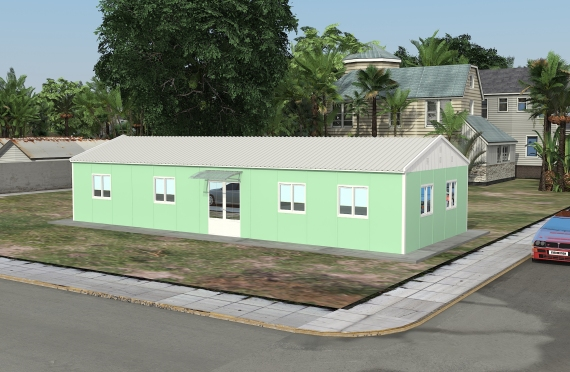 Модулна Офис Постройка  106 м²