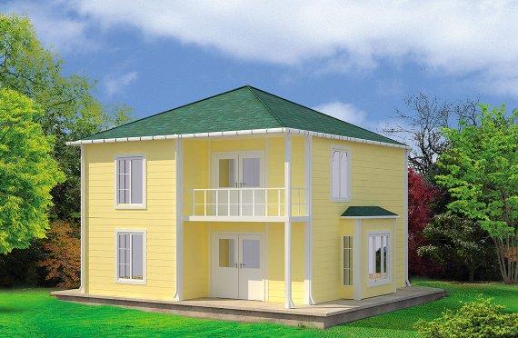 Сглобяема Къща 71 м²