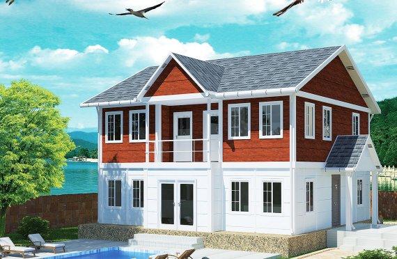 Сглобяема Къща 125 м²