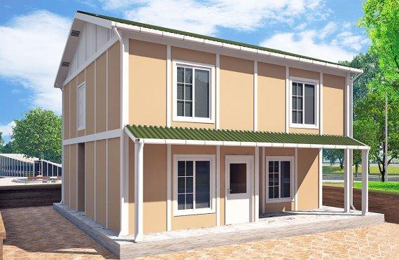 Сглобяема Къща 127 м²