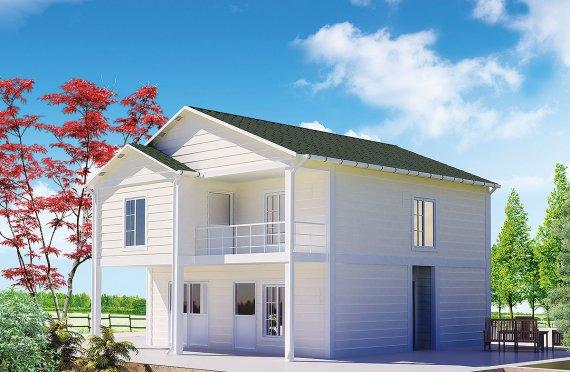 Сглобяема Къща 130 м²