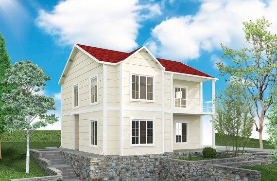 Сглобяема Къща 132 м²