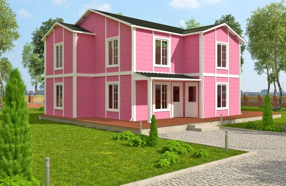 Сглобяема Къща 147 м²
