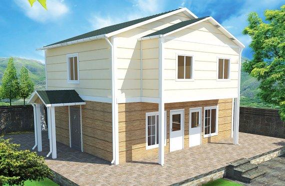 Сглобяема Къща 114 м²