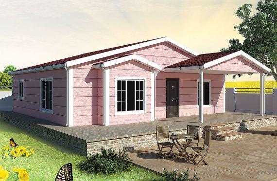 Сглобяема Къща 105 м²