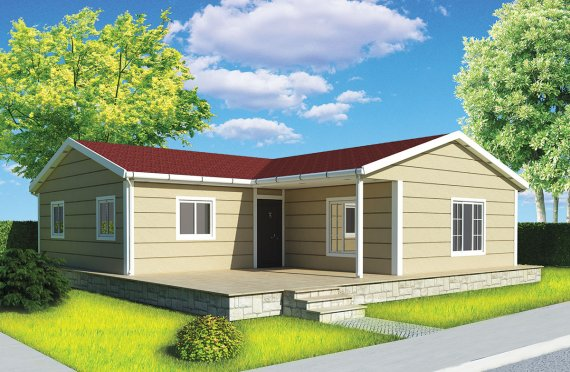Сглобяема Къща 107 м²