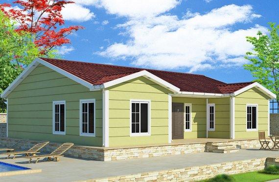 Сглобяема Къща 126 м²