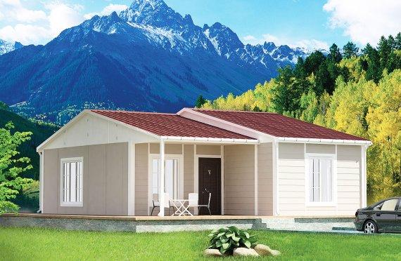 Сглобяема Къща 61 м²