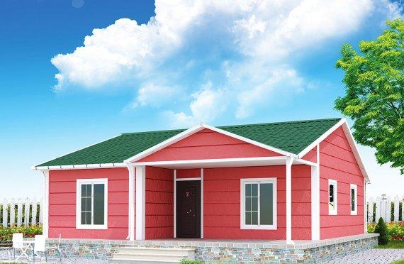 Сглобяема Къща 82 м²