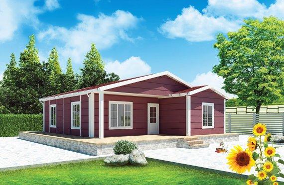 Сглобяема Къща 88 м²