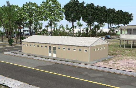 Постройка на Сглобяема Тоалетна & Баня 145 м²