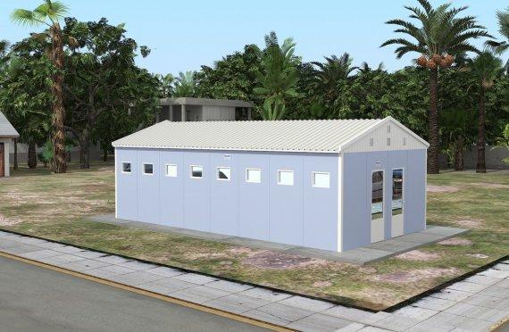 Постройка на Сглобяема Тоалетна & Баня 52 м²