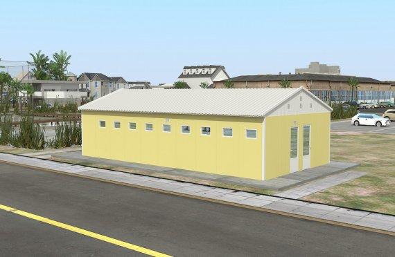Постройка на Сглобяема Тоалетна & Баня 82 м²
