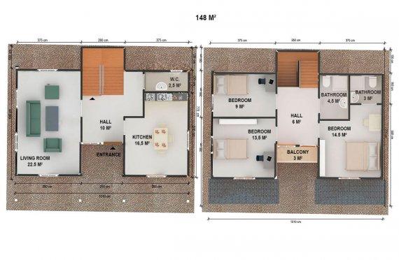 сглобяеми къщи брацигово цена