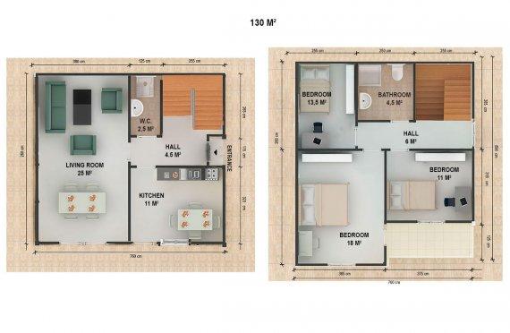 сглобяеми къщи проекти и цени цена