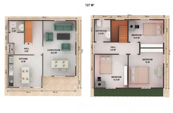 сглобяеми къщи топ хаус цена