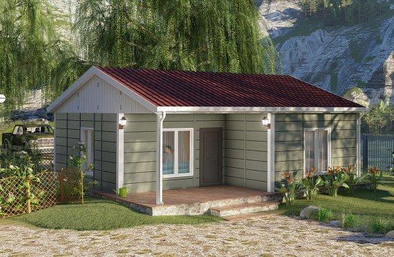 64 м2 Модулни къщи с едноетажна върба