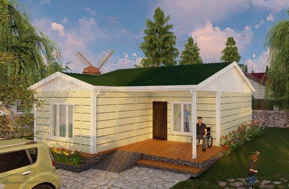 73м2 Модулни Планински къщи