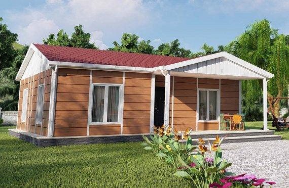 75м2 Модулни Къщи с веранда
