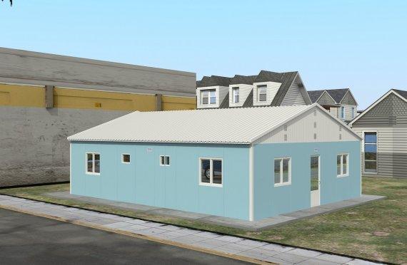 Модулна Единица за Настаняване 102 м²