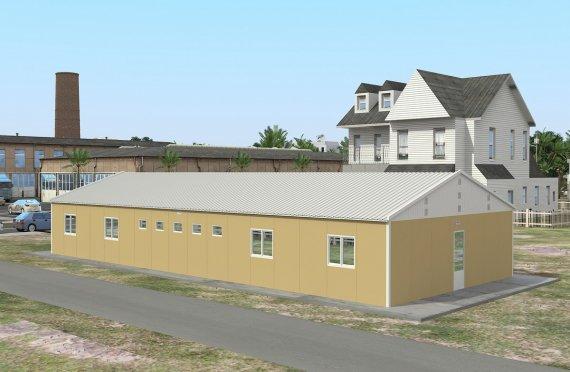 Модулна Единица за Настаняване 193 м²