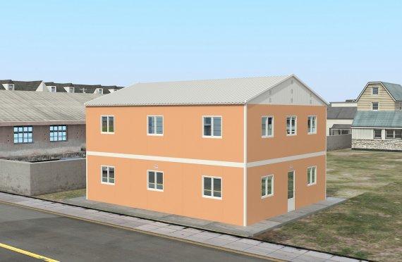 Модулна Единица за Настаняване 206 м²