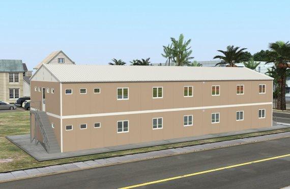 Модулна Единица за Настаняване 474 м²