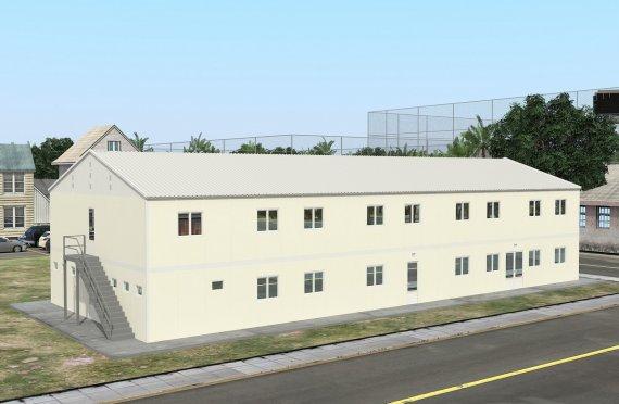 Модулна Единица за Настаняване 662 м²