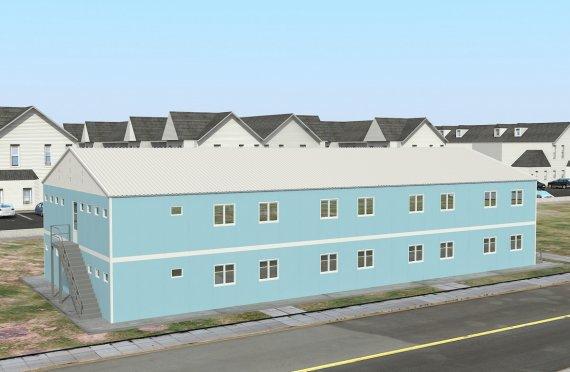 Модулна Единица за Настаняване 736 м²