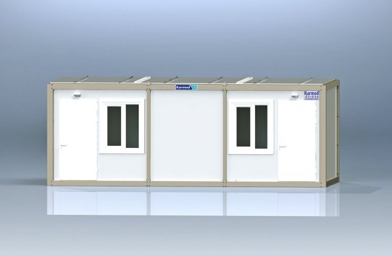 Flat Pack Офис Контейнер K2001