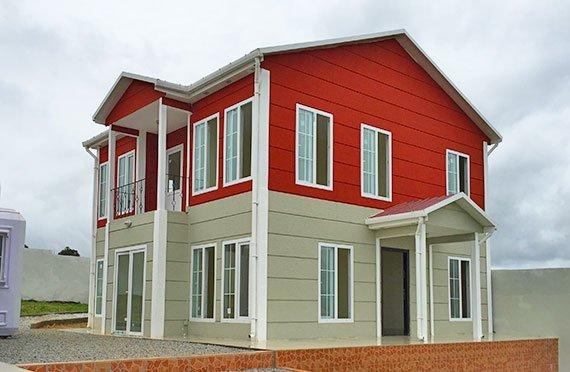 Проекти на двуетажни къщи и вили