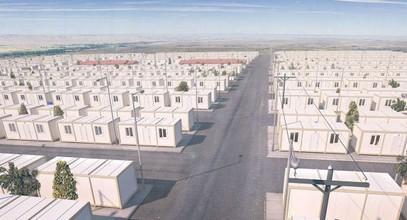Проект за контейнерни жилища на Сирийските бежанци